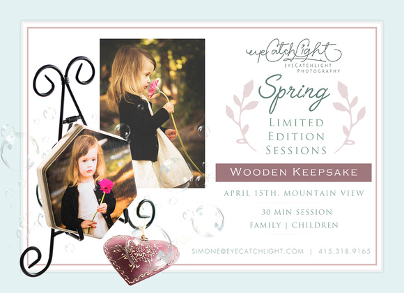 Spring Limited Edition Sessions Mountain View - Family and Children